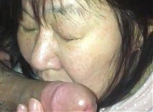 Blowjob Training Hiroko Mature Japanese Wife